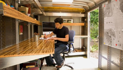 Mobile Pop-up Office Ideas