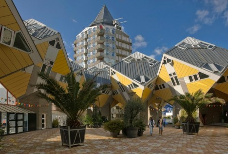 Buildings that Defy the Gravity