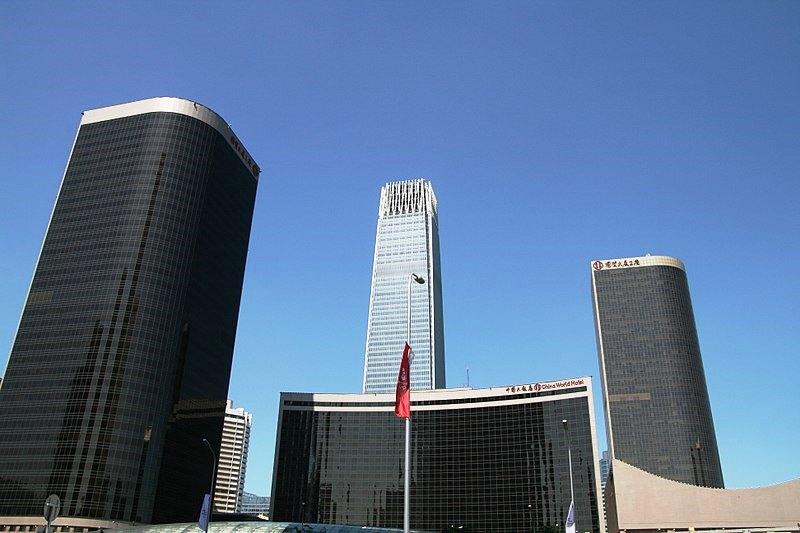 Gedung berkonstruksi rangka baja tertinggi di dunia
