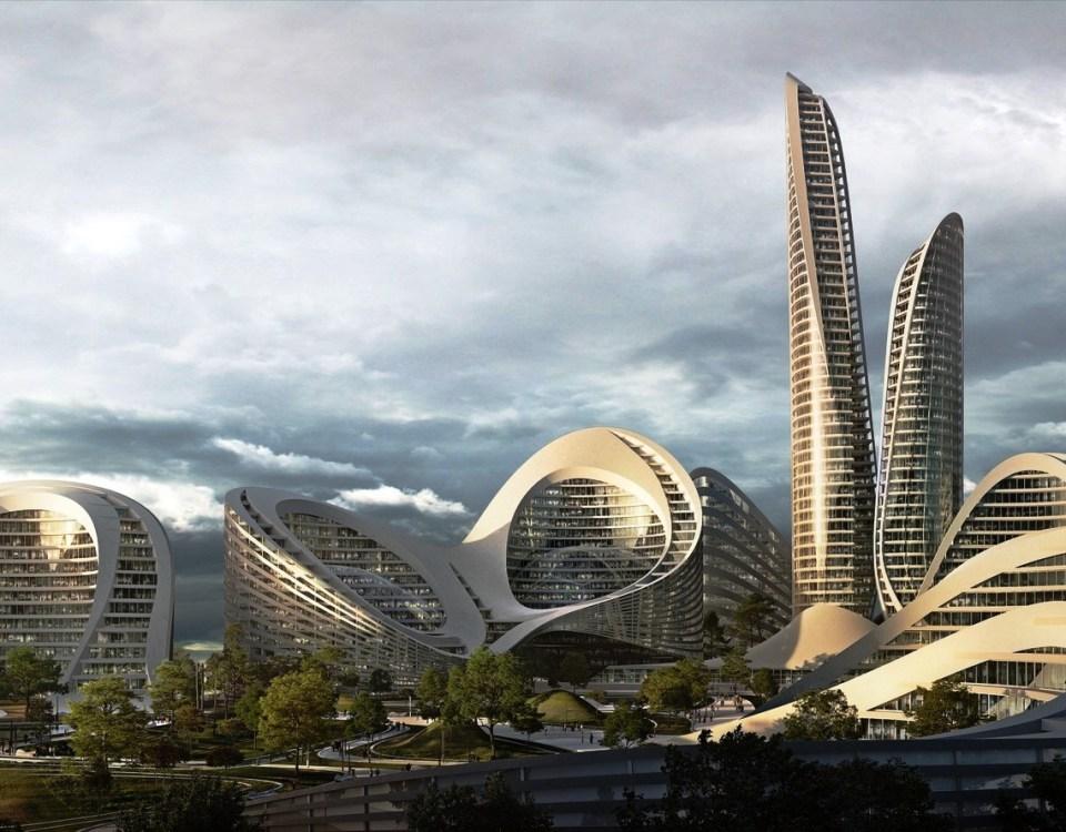 Kota Pintar di Moscow oleh Zaha Hadid Architects