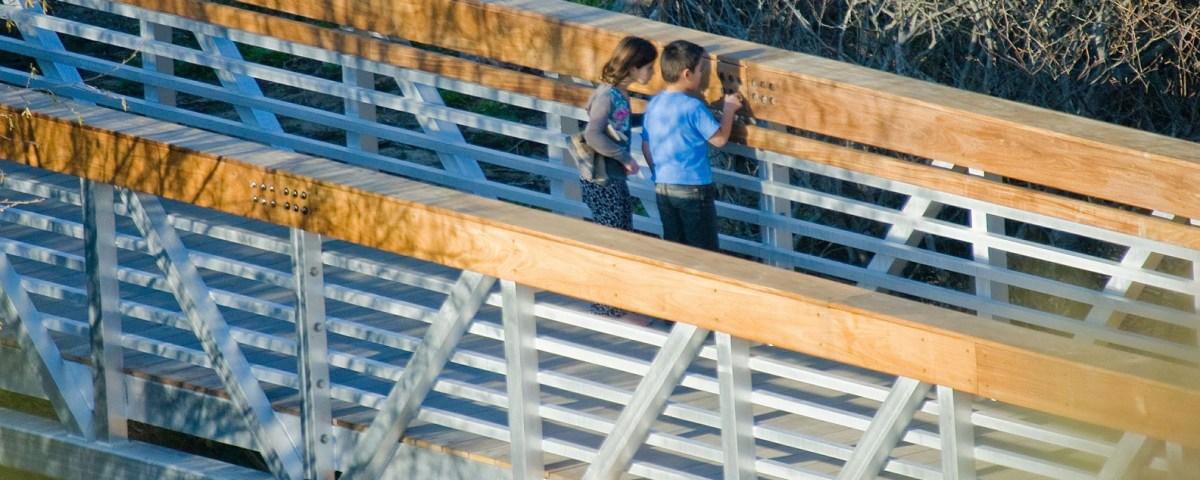 Prefabricated Aluminum Bridge 01
