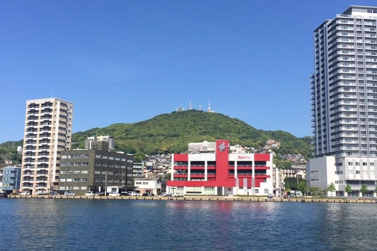 最近お気に入りの場所…長崎県庁界隈ベイエリア!