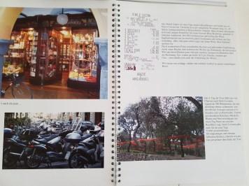 Mein erstes Fotobuch mit Spiralbindung und viel Text