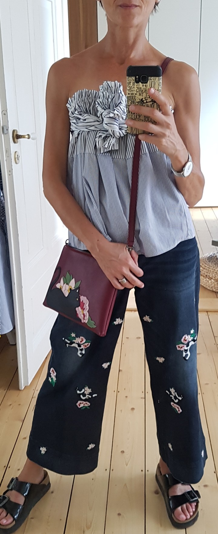 Outfit of the day – Schulterfreie Bluse?!
