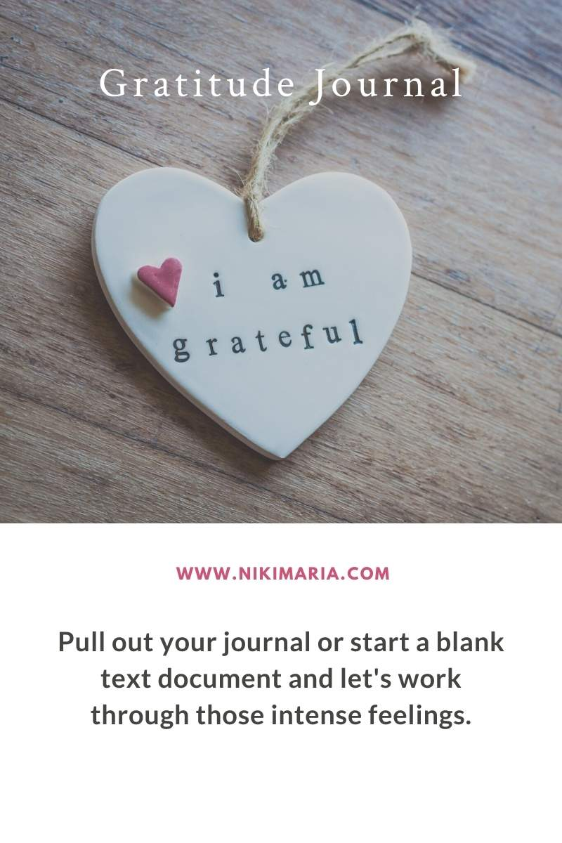 learning how to be gratitude