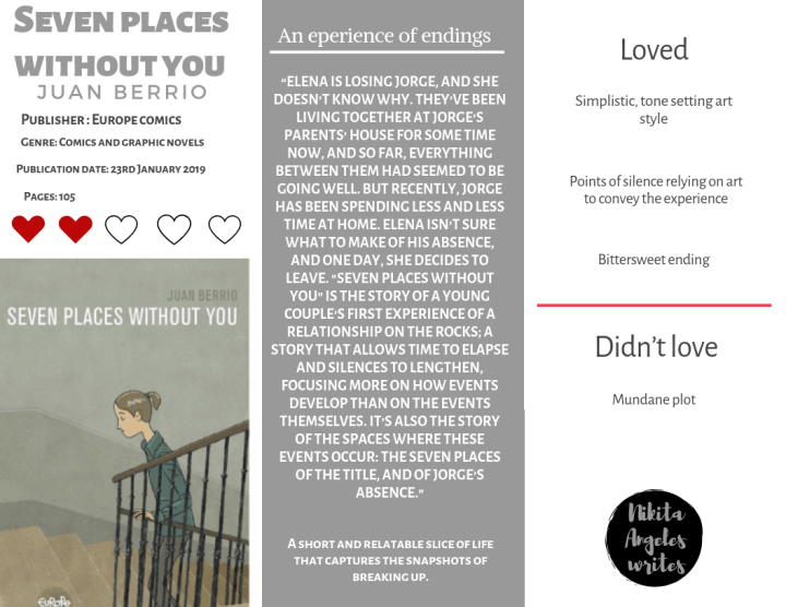 Seven Places Without You Quick Review