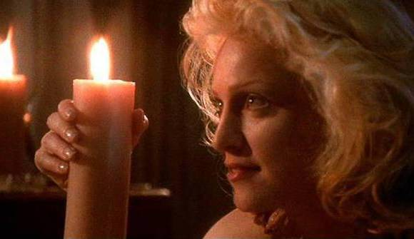 madonna-body-of-evidence-candle-scene
