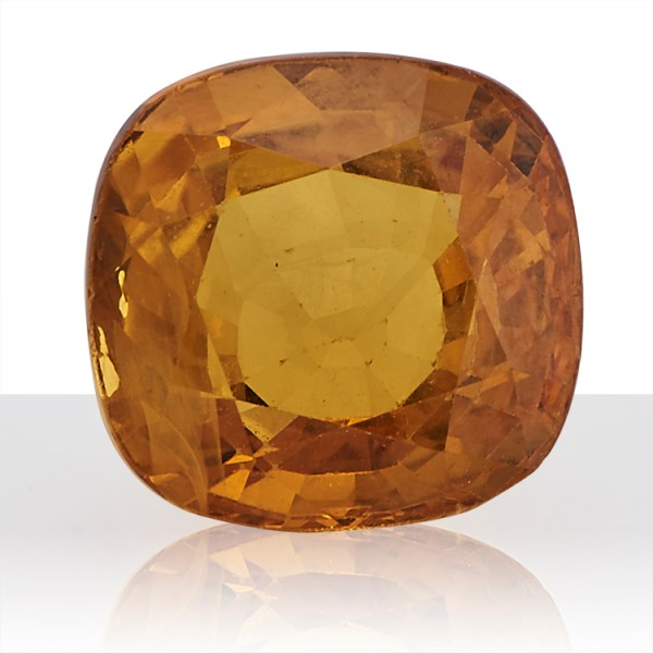 Yellow Sapphire (Pukhraj) -  7.75 carat from Bangkok
