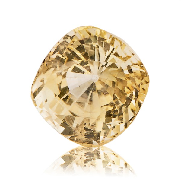 Yellow Sapphire (Pukhraj) -  5.95 carat from Ceylon
