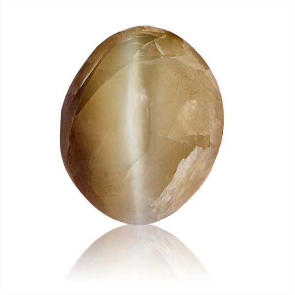 Catseye (Lahsuniya) - 6.6 carat from India