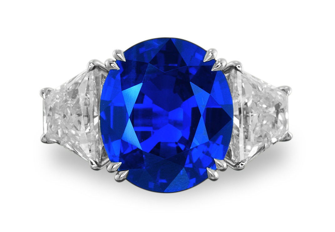 burmese sapphire diamond burma carat no and heat natural ring