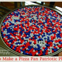 Pizza Pan Patriotic Platter
