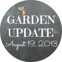 Garden Update: August 19th