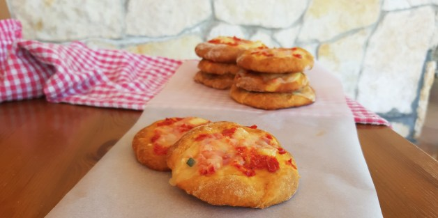 Mini pizza's