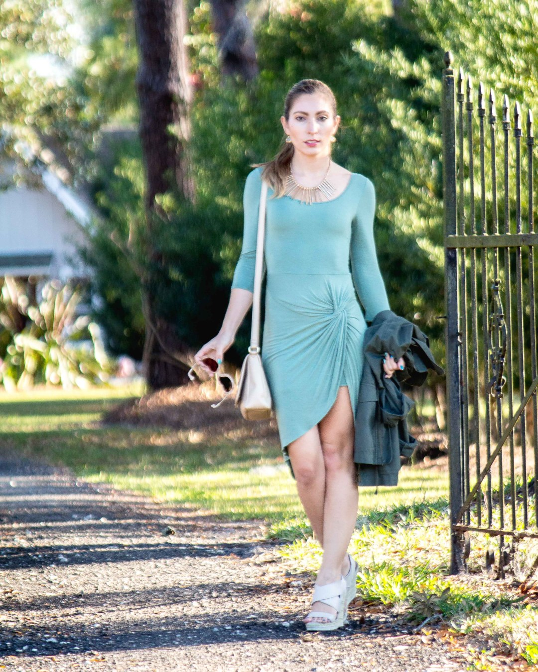 Olive Dress St. Patrick's Day