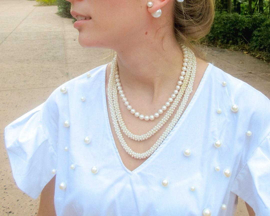 MODERN WAYS TO WEAR PEARLS