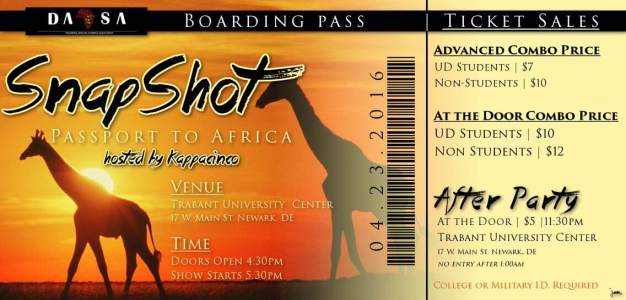 Delaware State ASA Presents Snapshot Passport to Africa 2016