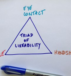 the triad of likeability smile eye contact  [ 1280 x 960 Pixel ]
