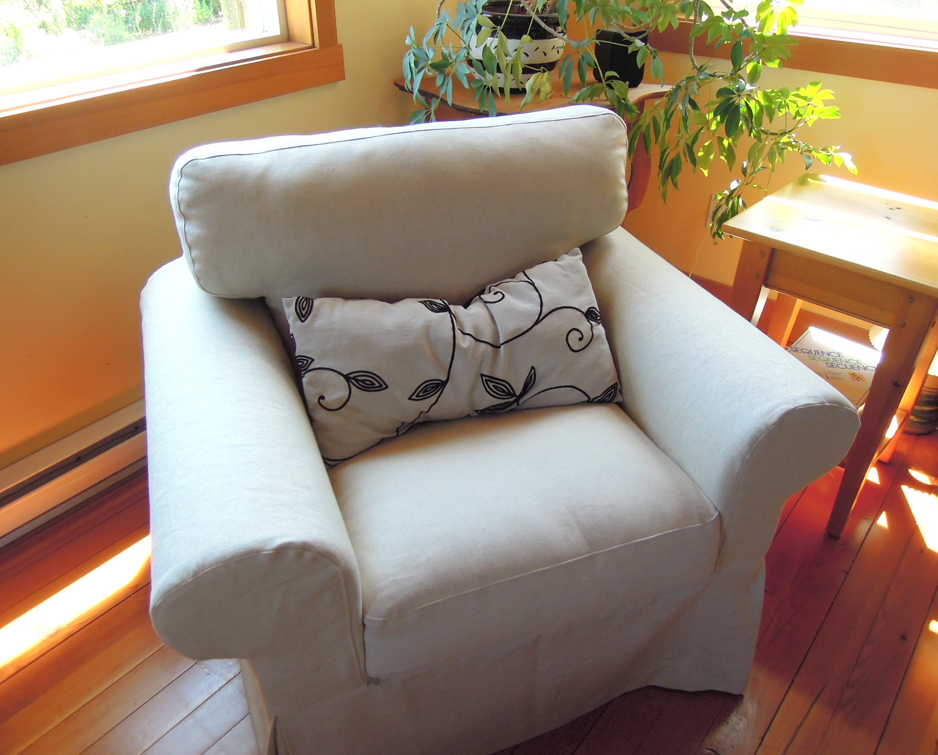 ikea usa chair covers eames molded wood side nikkidesigns organic soft furnishings and gifts page 2