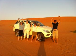 Successful dune bashing