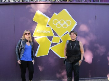 Proving we were at the Olympics
