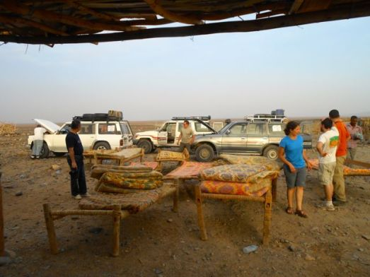 Sleeping outside