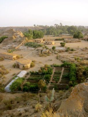 The serene Gheralta Lodge