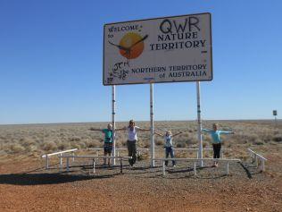 Hitting the Northern Territory