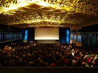 At a screening