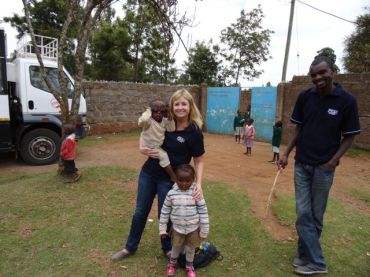 Community work day at the orphanage