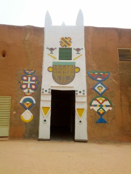 Entrance to the Sultan's Palace in Zinder, Niger