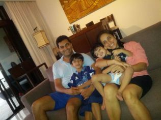 The Raju/Dewan's - and some rugby