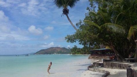 Seychelles - beginning the jump...