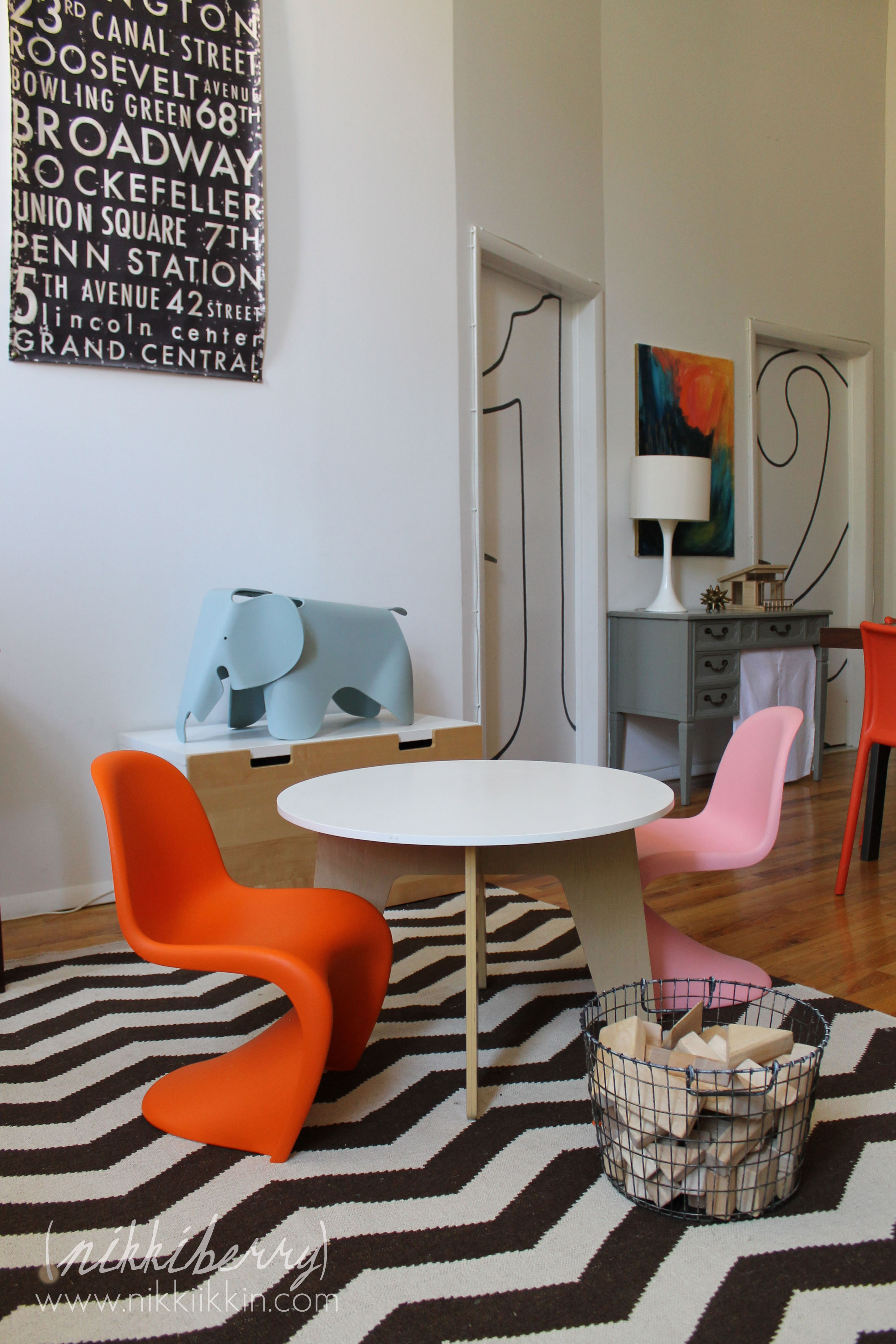 pink panton chair side dining chairs upholstered