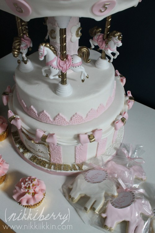 A Very Special Carousel Cake