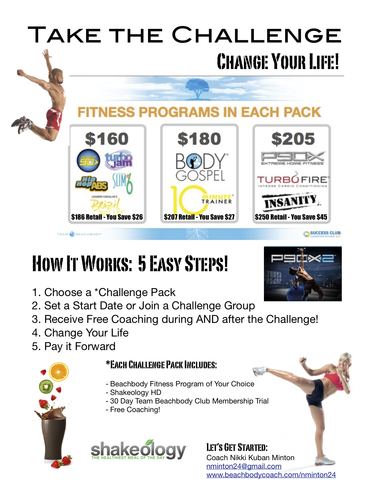 Get Fit For The Holiday Nikki S Challenge
