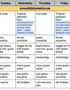 Vegan meal plan clean eating eat lose weight also plain and simple nikki kuban minton rh nikkikubanminton