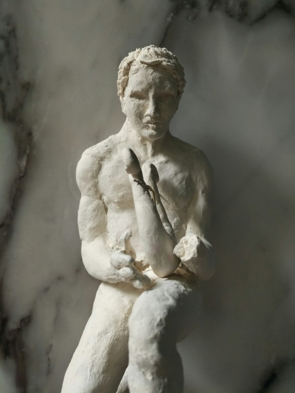 Diy Clay Achilles Sculpture Escaplace