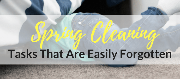 Spring Cleaning Tasks That Are Easily Forgotten