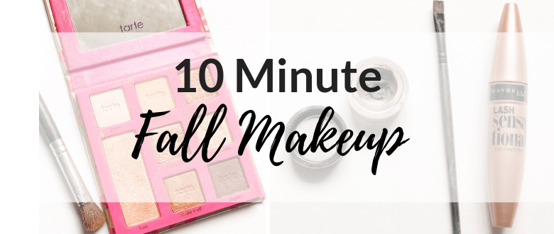 10 Minute Fall Makeup