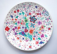 How To Decorate Ceramic Plates With Sharpie ...