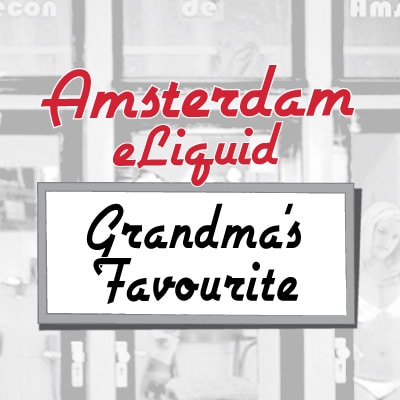 Amsterdam e-Liquid Grandma's Favourite Apple Pie e-Liquid