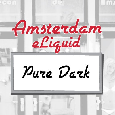Amsterdam e-Liquid Pure Dark