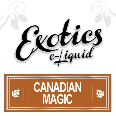 Exotics e-Liquid Canadian Magic