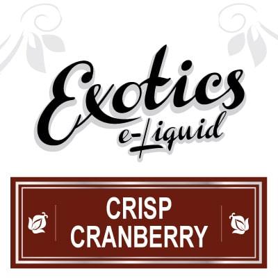 Crisp Cranberry e-Liquid, Exotics, Fruit eJuice, Flavours, Vape, Vaping