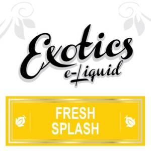 Exotics e-Liquid Fresh Splash