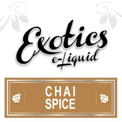 Chai Spice e-Liquid, Exotics, eJuice, Sweet, Drink Flavours, Vape, Vaping