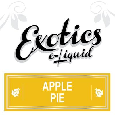 Apple Pie e-Liquid, Exotics, Vape, Vaping, eJuice