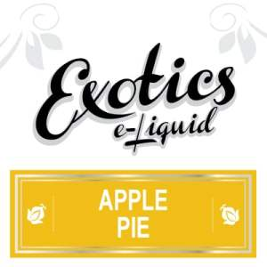 Apple Pie e-Liquid, Exotics, Vape, Vaping, eJuice
