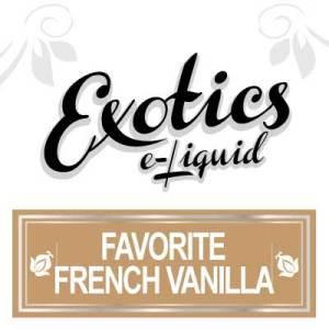 Favourite French Vanilla e-Liquid, Exotics, Sweet eJuice, Vape, Vaping